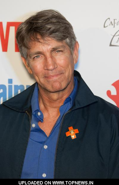 Eric Roberts Walks the Red