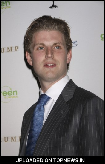 Eric Trump at 2009 Miss USA Pageant - Arrivals