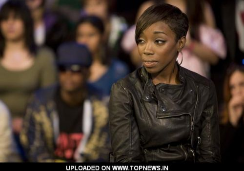 Estelle at Feist and Estelle Appear on MuchMusic's Much On Demand in Toronto Toronto ON Canada