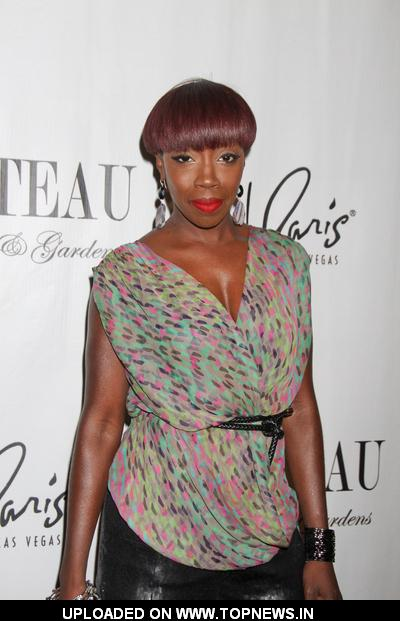 Estelle Hosts The Evening at Chateau Nightclub & Gardens in Las Vegas