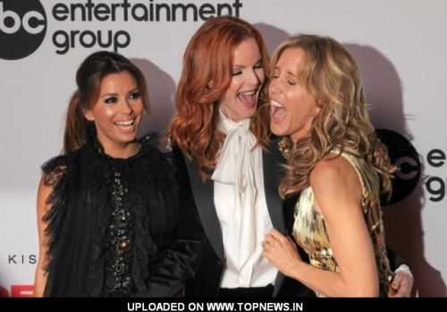 Eva Longoria, Felicity Huffman and Marcia Cross at 'Desperate Housewives' Final Season Kick-Off Party