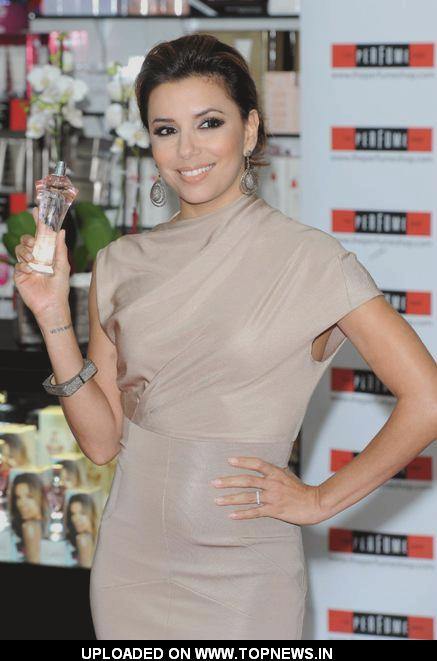 Eva Longoria Parker launches her new fragrance Eva at the Perfume shop