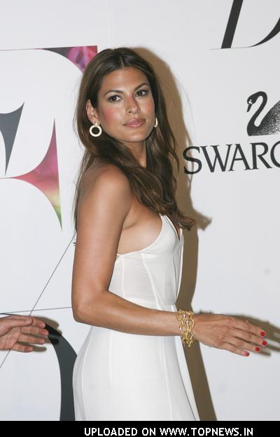 Eva Mendes at 2008 CFDA Fashion Awards