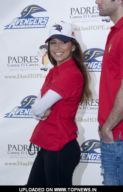 Eva Longoria Parker at Stand for Hope - 5K Charity Run-Walk