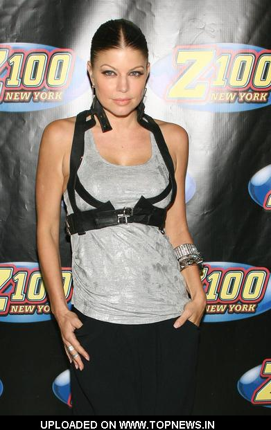 Fergie  at Z100's Zootopia '09 - Arrivals