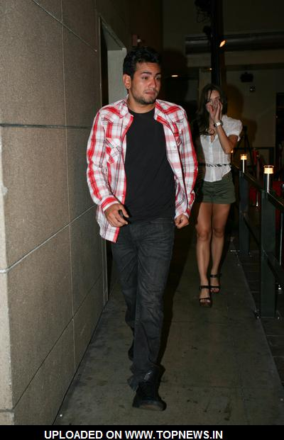 Frankie Delgado at  Celebrities Departing Lucky Strike Bowl in Hollywood on July 13, 2009