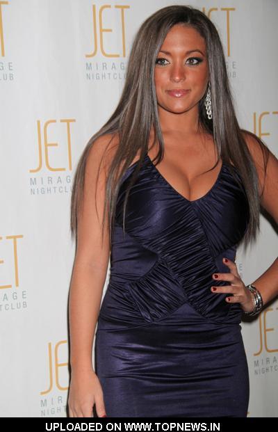 "Sammi ""Sweetheart"" Giancola at ""Jersey Shore"" Star Ronnie Magro Celebrates His 24th Birthday at JET Nightclub in Las Vegas"