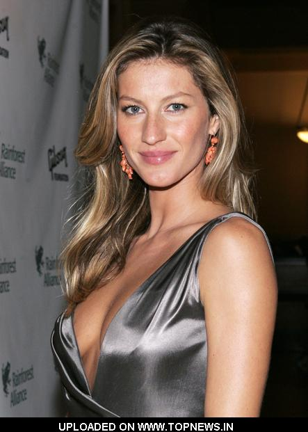 Gisele Bundchen at 2009 Rainforest Alliance Gala - Arrivals