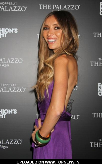 Giuliana Rancic Host 'Fashion's Night Out'