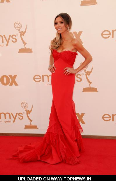 Giuliana Rancic  at   63rd Annual Primetime Emmy Awards - Arrivals
