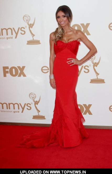 Giuliana Rancic at 63rd Annual Primetime Emmy Awards Arrivals