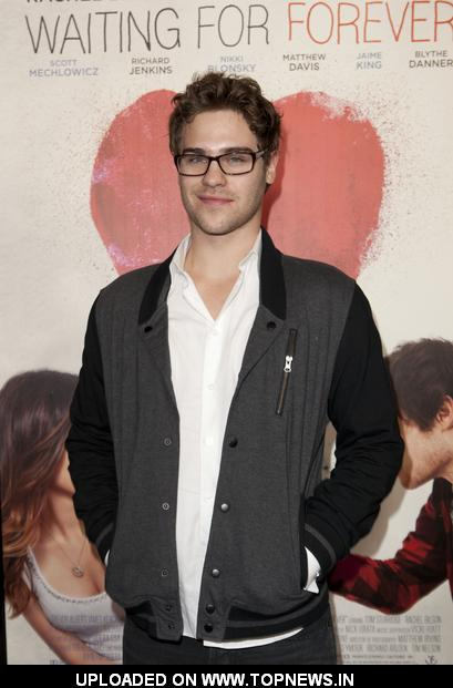 "Grey Damon at ""Waiting For Forever"" Los Angeles Premiere - Arrivals"