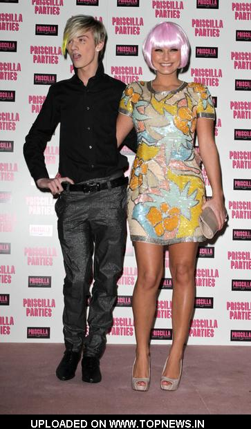 Harry Derbidge and Sam Faiers at Priscilla Parties Launch Party - Arrivals