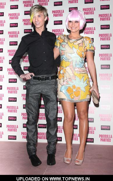 Harry Derbidge and Sam Faiers at Priscilla Parties Launch Party - Arrivals