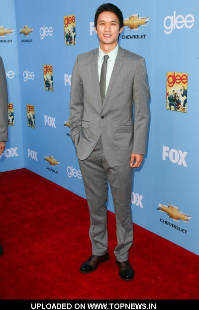 "Harry Shum Jr. at ""Glee"" Season 2 Hollywood Premiere and DVD Release Party - Arrivals"