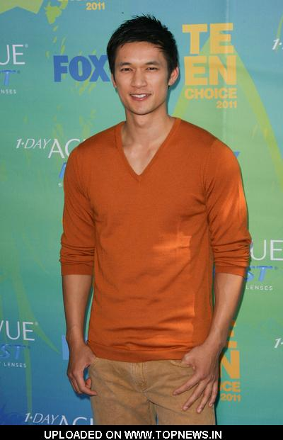 Harry Shum, Jr.   at  2011 Teen Choice Awards - Arrivals