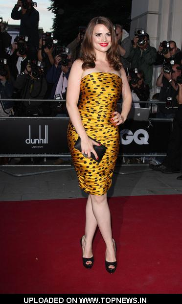 Hayley Atwell at GQ Men of the Year Awards 2010 - Arrivals