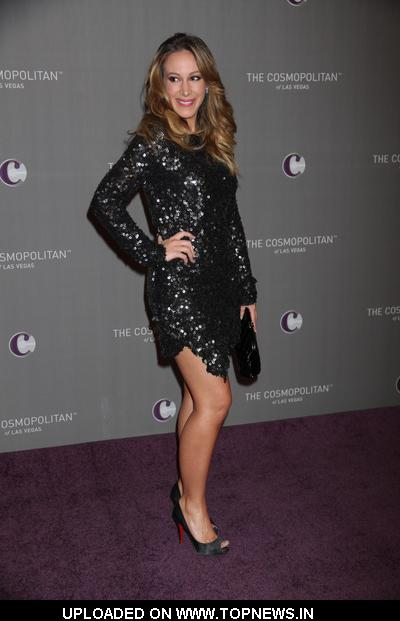 Haylie Duff at The Cosmopolitan of Las Vegas Grand Opening - Arrivals 2010-12-31