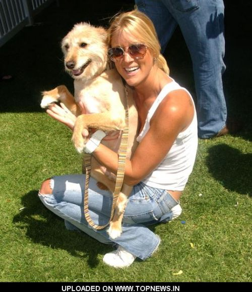 "Heidi Hamilton at New Leash On Life Presents 2008 'Nuts For Mutts"" 7th Annual Dog Show"