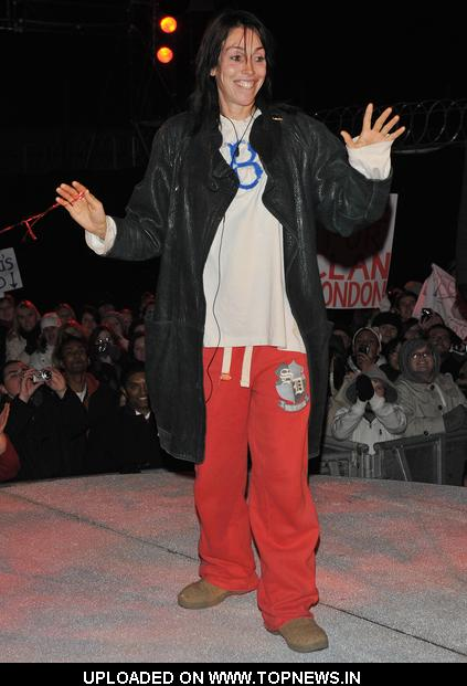 Heidi Fleiss at Celebrity Big Brother 2010 UK First Eviction Night at Elstree Studios