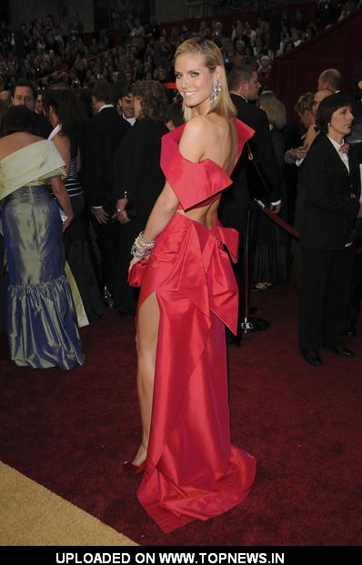 Heidi Klum at 81st Annual Academy Awards - Arrivals