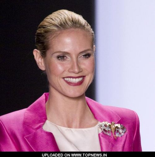 "Heidi Klum  at Mercedes-Benz Fashion Week Fall 2009 - ""Project Runway"" Season 6 Finale Show"