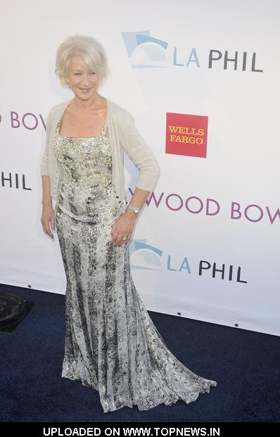 Helen Mirren at 2011 Hollywood Bowl Hall of Fame Ceremony - Arrivals