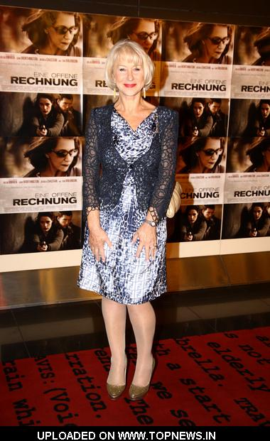 "Helen Mirren at ""The Debt"" Berlin Premiere - Arrivals"