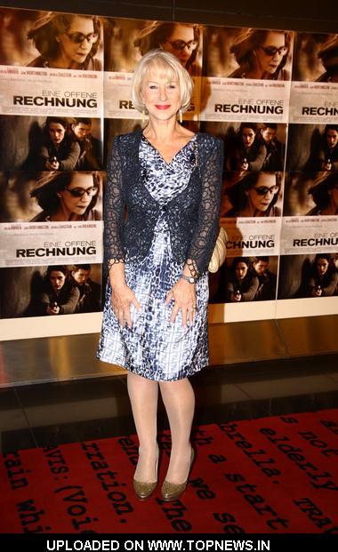 "Helen Mirren at ""The Debt"" Berlin Premiere - Arrivals"