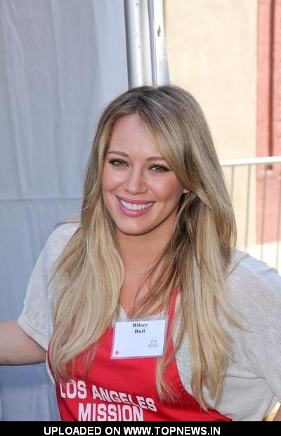 Hilary Duff at Los Angeles Mission's 75th Anniversary Year End of Summer Block Party
