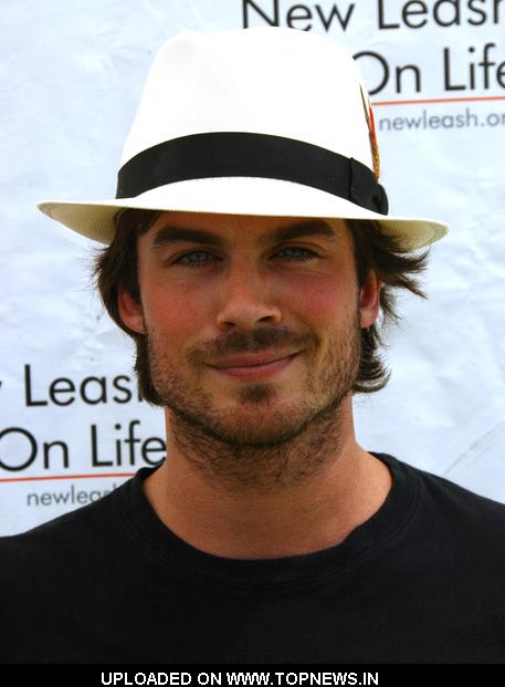 Ian Somerhalder at 8th Annual Nuts For Mutts Dog Show & Pet Fair - Arrivals