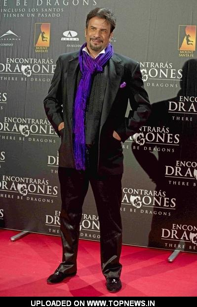 "Ignacio G. Sancha at ""There Be Dragons"" (""Encontraras Dragones"") Madrid Premiere - Arrivals"