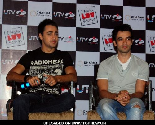 Imran Khan and Punit Malhotra at UTV India Games Launch Movie -I Hate Luv Storys