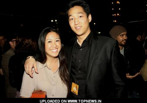 Jacky Wu and Daniel Kim at 2011 Singafest Asian Film Festival Afterparty at Napa Valley Grille