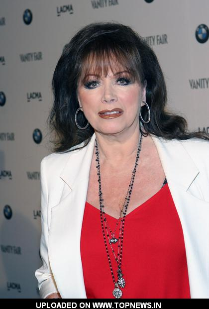Jackie Collins at BMW Art Car Installation Launch Party Hosted by Vanity Fair - Arrivals