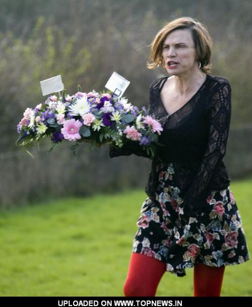 Jackiey Budden at 2nd Anniversary of the Death of Reality TV Star Jade Goody - March 22, 2011
