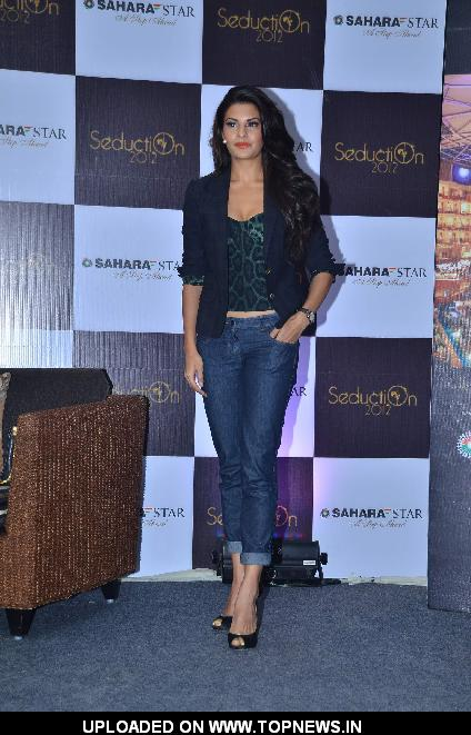 Jacqueline Fernandez at Sahara Star Seduction press meet at Sahara Star