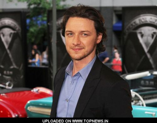 "James McAvoy at ""X-Men: First Class"" New York City Premiere - Arrivals"