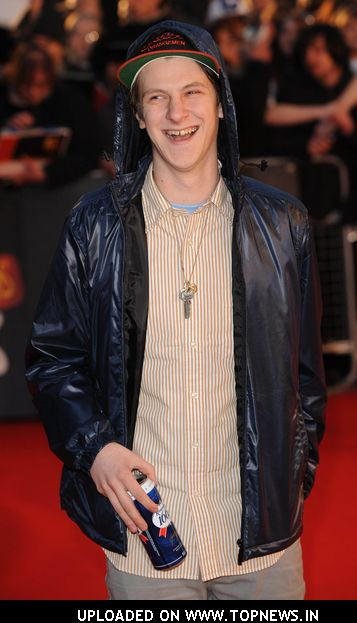 Jamie T Atthe Brit Awards  Red Carpet Arrivals