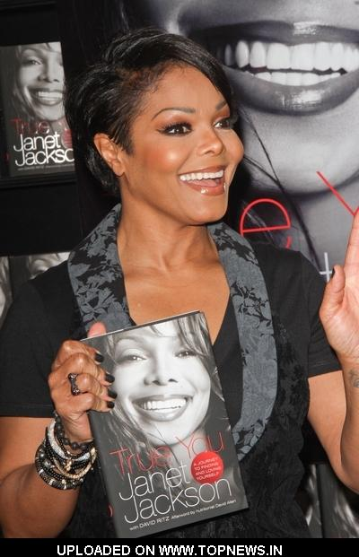 "Janet Jackson ""True You: A Journey to Finding and Loving Yourself"" Book Signing at Book Soup in West Hollywood"