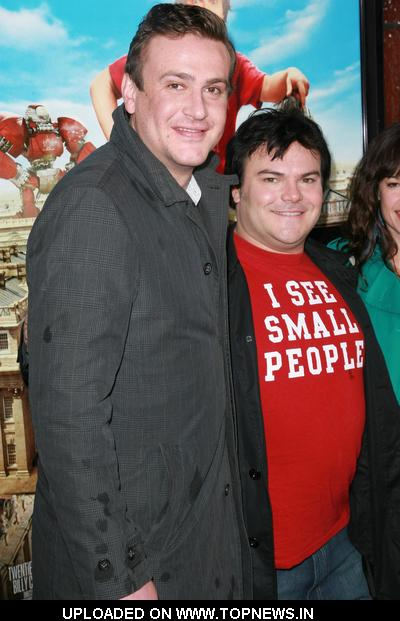"Jason Segel and Jack Black at ""Gulliver's Travels"" Los Angeles Premiere - Arrivals 2010-12-18"