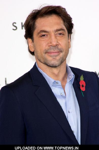 "Javier Bardem at ""Skyfall"" UK Photocall"