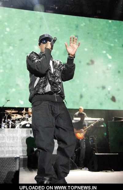 Jay Z in Concert at Charter One Pavilion at Northerly Island in Chicago, IL - July 7, 2009