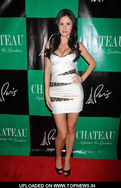 Jayde Nicole at Cassie Scerbo 21st Birthday Celebration at Chateau Nightclub in Las Vegas