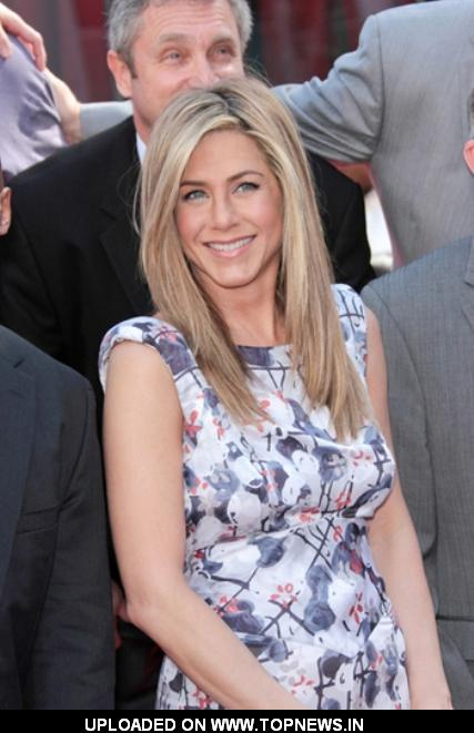 Jennifer Aniston Honored with Star on Hollywood Walk of Fame