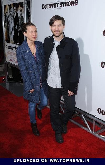 Tobey Maguire at Country Strong Los Angeles Special Screening - Arrivals