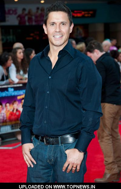 "Jeremy Edwards at ""The Inbetweeners Movie"" UK Premiere - Arrivals"