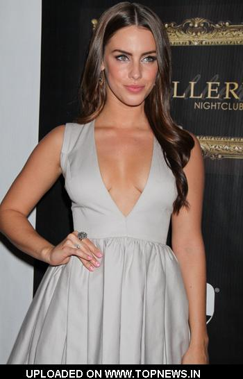 Jessica Lowndes Hosts Evening at Gallery Nightclub in Vegas