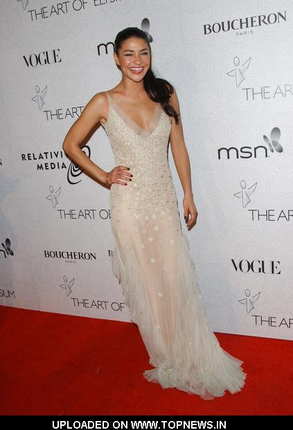 "Jessica Szohr at The Art Of Elysium's 3rd Annual ""Heaven"" Black Tie Charity Gala - Arrivals"