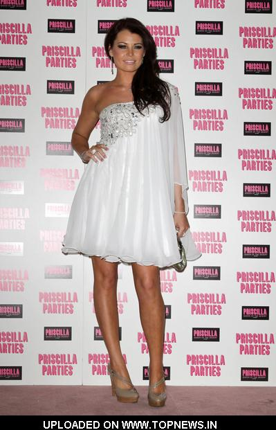 Jessica Wright at Priscilla Parties Launch Party - Arrivals